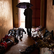 December 6th 2013, at the morgue of the general hospital of Bangui, dead bodies are being brought by dozens. <br /> Over 130 dead bodies are gathered on the same day. The death toll reaches an estimate of 600 killed within a couple of days. <br /> <br /> On evening the 5th December, the Anti Balaka pulled out of Bangui. During the night and all day long, the Seleka went from door to door killing people in the areas they thought were related to the Anti Balaka.