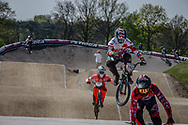 #192 (VAN DER BURG Dave) NED at the 2016 UCI BMX Supercross World Cup in Papendal, The Netherlands.