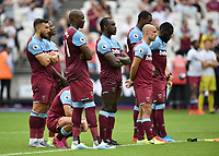 Football - 2019 Betway Cup (pre-season friendly) - West Ham vs. Athletic Bilbao<br /> <br /> West Ham United players during the penalty shoot out, at The London Stadium.<br /> <br /> COLORSPORT/ASHLEY WESTERN