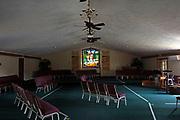 Window 1 on plan.<br /> First Baptist Church, Bar Harbor, Maine.