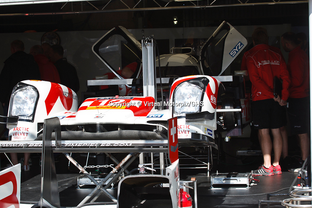 #12 Rebellion R-One, Rebellion Racing, Mathias Beche, Nick Heidfeld, Nicolas Prost at Le Mans 24H, 2015