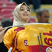 Galatasaray's supporters during their Turkish Super League soccer match Galatasaray between Samsunspor at the Turk Telekom Arena at Seyrantepe in Istanbul Turkey on Sunday, 18 September 2011. Photo by TURKPIX