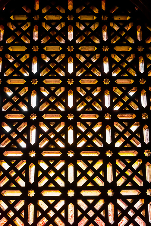 Moorish details,  Mezquita (Mosque-Cathedral) of Cordoba, Cordoba Province, Spain.