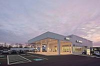 Architectural exterior photo of Rockville Car Dealership VOB BMW