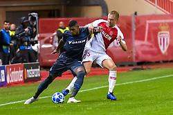 November 6, 2018 - Monaco, France - Wesley Moraes Ferreira da Silva (Club Bruges) - Kamil Glik  (Credit Image: © Panoramic via ZUMA Press)