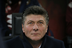 December 9, 2018 - Milan, Milan, Italy - head coach of Torino FC Walter Mazzarri during the serie A match between AC Milan and Torino FC at Stadio Giuseppe Meazza on December 09, 2018 in Milan, Italy. (Credit Image: © Giuseppe Cottini/NurPhoto via ZUMA Press)