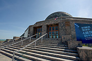 The Adler Planetarium along Lake Michigan in Chicago, Illinois.<br /> Photo by Mark Black
