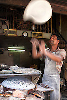 "Chapati is unleavened bread common in India and Pakistan.  It is also called roti. The word chapati means ""flattened round"" in Hindi and they are made of whole wheat dough, water and salt."