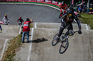 #785 (CALIXTO LOPEZ Miguel Alejandro) COL during round 4 of the 2017 UCI BMX  Supercross World Cup in Zolder, Belgium.