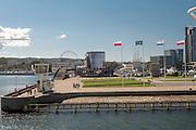 Gdynia, (woj. pomorskie) 20.07.2016. Port w Gdyni.