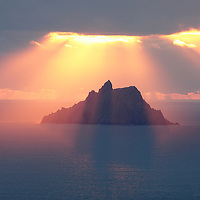 Skellig Michael Blessing<br /> <br /> Sunset at Skellig Michael, County Kerry, Ireland <br /> <br /> <br /> Hi Tommy's Outdoor listeners. Nice to see you here. I hope you enjoyed our interview <3<br /> <br /> <br /> Visit & browse through my Photography & Art Gallery, located on the Wild Atlantic Way & Skellig Ring between Waterville and Ballinskelligs (Skellig Coast R567), only 3 minutes from the main Ring of Kerry road.<br /> https://goo.gl/maps/syg6bd3KQtw<br /> <br /> ******<br /> <br /> Contact: 085 7803273 from an Irish mobile phone or +353 85 7803273 from an international mobile phone