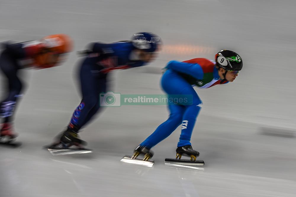 February 17, 2018 - Pyeongchang, Gangwon, South Korea - Arianna Fontana of Italy competing in 1500 meter speed skating for women at Gangneung Ice Arena, Gangneung, South Korea on 17 February 2018. (Credit Image: © Ulrik Pedersen/NurPhoto via ZUMA Press)
