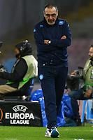 Maurizio Sarri Napoli, <br /> Napoli 25-02-2016 Stadio San Paolo <br /> Football Calcio UEFA Europa League <br /> Sedicesimi di finale, ritorno. Round of 32, second leg. Napoli - Villarreal<br /> Foto Cesare Purini / Insidefoto