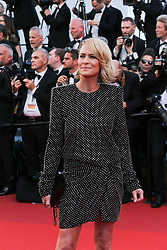 Robin Wright arriving at Les Fantomes d'Ismael screening and opening ceremony held at the Palais Des Festivals in Cannes, France on May 17, 2017, as part of the 70th Cannes Film Festival. Photo by David Boyer/ABACAPRESS.COM