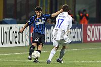 """Davide Faraoni Inter<br /> Milano 07/12/2011 Stadio """"S.Siro""""<br /> Football / Calcio Champions League 2011/2012<br /> Inter vs CSKA Mosca<br /> Foto Paolo Nucci Insidefoto"""