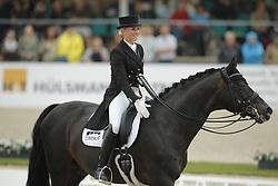 Bredow-Werndl, Jessica (GER), Unee BB<br /> Hagen - CDIO Nationenpreis Dressur 2015<br /> CDIO, Kür, Freestyle<br /> © www.sportfotos-lafrentz.de/Stefan Lafrentz