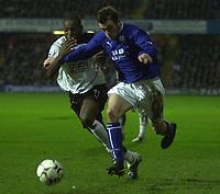 10/01/2004 - Photo  Peter Spurrier<br /> 2003/04 Barclaycard Premiership Fulham v Everton