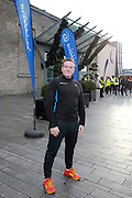 NO FEE PICTURES <br /> 1/1/15 Paul Byrne at the Resolution Day New Years Day fun run at the CHQ building in Dublin. Picture:Arthur Carron