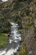 Cosanga River<br /> Antisana Ecological Reserve<br /> Cordillera Real, Andes<br /> ECUADOR, South America