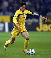 Fotball<br /> Foto: imago/Digitalsport<br /> NORWAY ONLY<br /> <br /> 06.04.2006  <br /> <br /> Daniel Borimirov (Levski Sofia)<br /> <br /> FC Schalke 04 - PFK Levski Sofia 1:1<br /> UEFA Cup 2005/2006