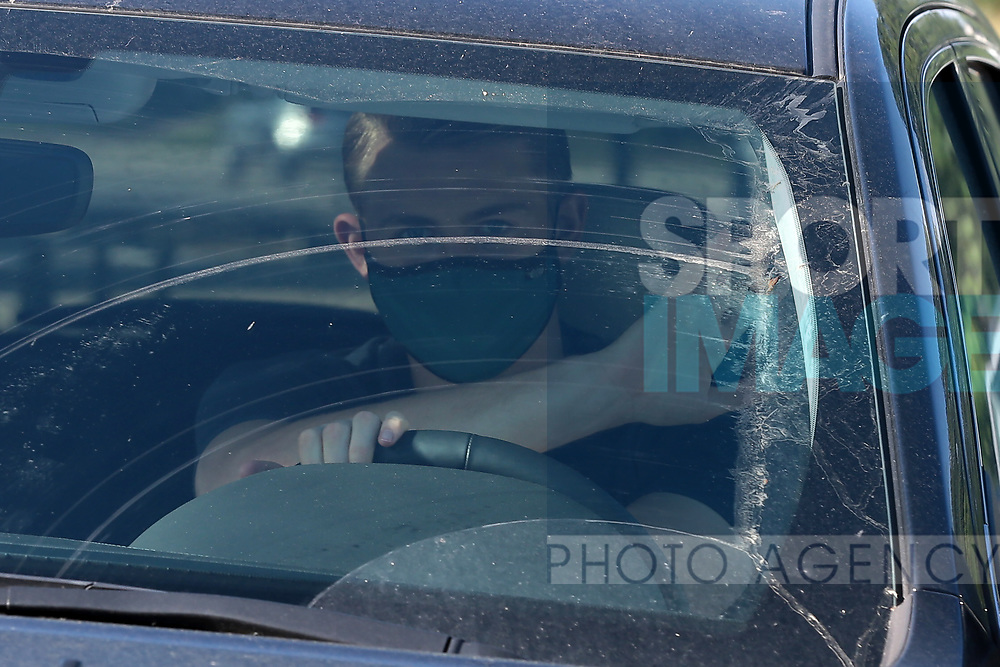 Juventus's Dutch defender Matthijs De Ligt arrives for training as part of Serie A restart at the Juventus Training Centre, Turin. Picture date: 20th May 2020. Picture credit should read: Jonathan Moscrop/Sportimage