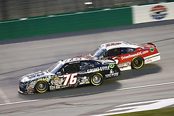 July 13, 2018 - Sparta, Kentucky, United States of America - Spencer Boyd (76) and Ryan Reed (16) battle for position during the Alsco 300 at Kentucky Speedway in Sparta, Kentucky. (Credit Image: © Chris Owens Asp Inc/ASP via ZUMA Wire)