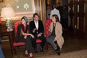 HANNA PUTZ; DANIEL RICHTER; NICOLE WERMERS, TenTen. The Government Art Collection/Outset Annual Award. Champagne reception to announce the inaugural artist Hurvin Anderson and unveil his 2018 print. Locarno Suite, Foreign and Commonwealth Office. SW1. 2 October 2018