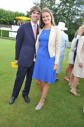 LOUISA WENTWORTH-STANLEY and JACK GREENALL at the 3rd day of the 2012 Glorious Goodwood racing festival at Goodwood Racecourse, West Sussex on 2nd August 2012.