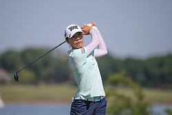 May 6, 2018 - The Colony, TX, U.S. - THE COLONY, TX - MAY 06: Lydia Ko (NZL) hits from the 6th tee during the Volunteers of America LPGA Texas Classic on May 6, 2018 at the Old American Golf Club in The Colony, TX. (Photo by George Walker/Icon Sportswire) (Credit Image: © George Walker/Icon SMI via ZUMA Press)