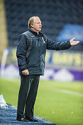 Cowdenbeath's manager Jimmy Nicholl. <br /> Falkirk 1 v 0 Cowdenbeath, Scottish Championship game played 31/3/2015 at The Falkirk Stadium.