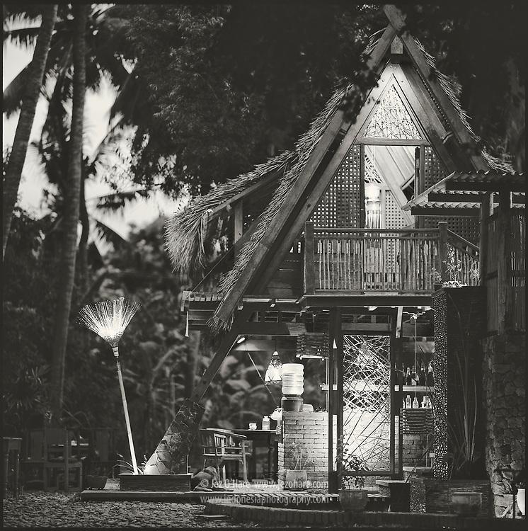 Kuple's house at Penyusuan near Singaraja, Northern Bali, Indonesia.