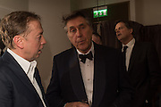 GEORDIE GREIG; SIR BRYAN FERRY, Nicky Haslam hosts dinner at  Gigi's for Leslie Caron. 22 Woodstock St. London. W1C 2AR. 25 March 2015