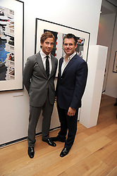 Left to right, rugby players DANNY CIPRIANI and KENNY LOGAN at the TAG Heuer British Formula 1 Party at the Mall Galleries, London on 15th September 2008.