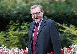 Downing Street, London, October 18th 2016. Scotland Secretary David Mundell arrives at the weekly cabinet meeting at 10 Downing Street in London.