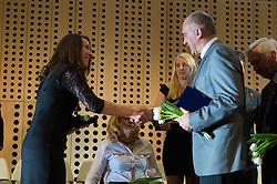 Winners of 52th Annual Awards of Stanko Bloudek for sports achievements in Slovenia in year 2016 on February 14, 2017 in Brdo Congress Center, Brdo, Ljubljana, Slovenia.  Photo by Martin Metelko / Sportida