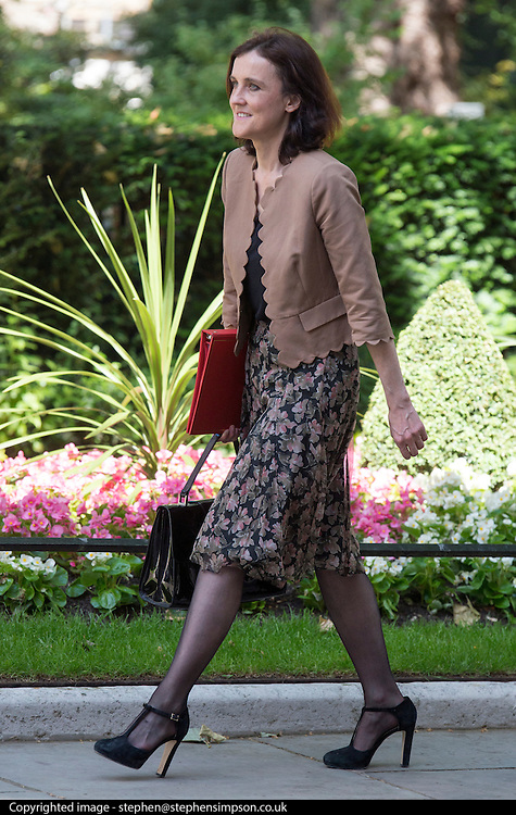 © Licensed to London News Pictures. 10/06/2014. Westminster, UK Theresa Villiers,Conservative MP, Secretary of State for Northern Ireland arrives at Cabinet 10th June 2014. Photo credit : Stephen Simpson/LNP