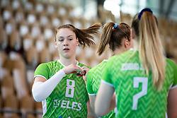 ZATKOVIĆ Eva of Slovenian national team during volleyball match between Slovenia and Portugal in CEV Volleyball European Silver League 2021, on 12 of June, 2021 in Dvorana Ljudski Vrt, Maribor, Slovenia. Photo by Blaž Weindorfer / Sportida