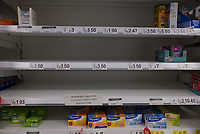 Supermarkets are taking  measures to control panic buying Photo By Michael Palmer