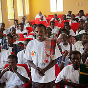The men and women all work on the FGM programme. The programme has been running for 3 months out of 12 and its time to evaluated the progress and discuss any issues.  Action for Integrated Sustainable Development Association (AISDA) work in the AFAR region of Eastern Ethiopia, based in Delafagi. The Afars practise an old tradition of Female Genital Mutilation where the baby girls has her clitoris and labia cut away and her vagina sewn up. The day before her wedding day the girl is un-stiched ready for marriage. Its a brutal and barbaric tradition which AISDA is challenging with great effect, now more than a hundred girls in Dowe district have been saved from the knife and AISDA is now rolling out the scheme in Delafagi. Delafagi is where the oldest ever human remains have been found, the found is thought to be 4.5 mill years old.