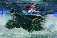 Canoe slalom world cup, Cardiff, pic by Andrew Orchard,