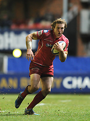 - Photo mandatory by-line: Dougie Allward/JMP - Mobile: 07966 386802 - 16/01/2015 - SPORT - Rugby - Leicester - Welford Road - Leicester Tigers v Scarlets - European Rugby Champions Cup