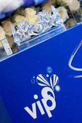 06.01.2013, Crveni Spust, Zagreb, CRO, FIS Ski Alpin Weltcup, Slalom, Herren, im Bild Kronej des Schneekoenigs, Trophae // Snow King Tropy during mens Slalom of the FIS ski alpine world cup at Crveni Spust course in Zagreb, Croatia on 2013/01/06. EXPA Pictures © 2013, PhotoCredit: EXPA/ Pixsell/ Zeljko Lukunic..***** ATTENTION - for AUT, SLO, SUI, ITA, FRA only *****