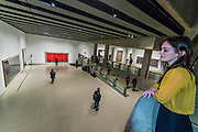 The main galleries - Andreas Gursky a new exhibiition. The Hayward Gallery reopens on the Southbank after a major refurbishment.