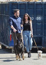Ben Affleck and girlfriend Ana de Armas are seen in Los Angeles, California. NON-EXCLUSIVE April 1, 2020. 01 Apr 2020 Pictured: Ben Affleck,Ana de Armas. Photo credit: BG004/Bauergriffin.com / MEGA TheMegaAgency.com +1 888 505 6342