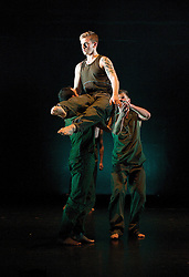 Ballet Boyz <br /> The Talent 2013 <br /> press photocall <br /> 17th January 2013 <br /> the first night cast for The Watford Palace Theatre<br /> <br /> founded by Michael Nunn & William Trevitt <br /> <br /> Taylor Benjamin <br /> Andrea Carrucciu <br /> Flavien Esmieu<br /> Adam Kirkham<br /> Jordan Olpherts<br /> Edward Pearce<br /> Leon Poulton <br /> Matthew Rees<br /> Matthew Sandiford<br /> <br /> <br /> Fallen <br /> by Russell Maliphant <br /> <br /> and <br /> <br /> Serpent by Liam Scarlett <br /> <br /> <br /> Photograph by Elliott Franks
