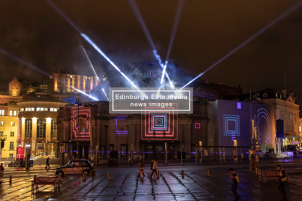 A free outdoor event, the Aberdeen Standard Investments Opening Event: Five Telegrams will celebrate the start of the 2018 International Festival.<br /> <br /> Inspired by themes of communication including telegrams sent by young soldiers in 1918, Five Telegrams weaves a newly commissioned orchestral score by Anna Meredith, projected digital artworks and live participation together to consider themes of machines and codes, censorship, propaganda and reconciliation.<br /> <br /> The performance will take place on 3 August 2018.