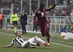 February 18, 2018 - Turin, Italy - Stefano Sturaro during the Serie A match between Torino FC and Juventus at Stadio Olimpico di Torino on February 18, 2018 in Turin, Italy. (Credit Image: © Loris Roselli/NurPhoto via ZUMA Press)