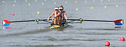 Plovdiv BULGARIA. 2017 FISA. Rowing World U23 Championships. <br /> USA BW2- Bow. BREWER, Kendall and PIERSON, Brooke<br /> Wednesday. PM,  Heats 16:45:19  Wednesday  19.07.17   <br /> <br /> [Mandatory Credit. Peter SPURRIER/Intersport Images].