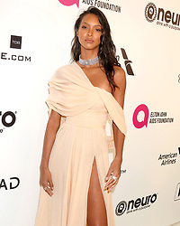 February 24, 2019 - West Hollywood, CA, USA - LOS ANGELES - FEB 24:  Lais Ribeiro at the Elton John Oscar Viewing Party on the West Hollywood Park on February 24, 2019 in West Hollywood, CA (Credit Image: © Kay Blake/ZUMA Wire)
