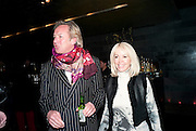 SALLY GREENE; NICHOLAS BARKER, Clybourne Park Press night. Opened at Wyndham's Theatre. Party afterwards at Mint Leaf, Haymarket, London. 8 February 2011.  -DO NOT ARCHIVE-© Copyright Photograph by Dafydd Jones. 248 Clapham Rd. London SW9 0PZ. Tel 0207 820 0771. www.dafjones.com.